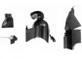 Karbonové sání Eventuri pro BMW 1-Series F20 / F21 M140i / 2-Series F22 / F23 M240i / 3-Series F30 / F31 / GT F34 340i (16-) - černý karbon