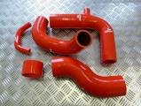 Silikonové hadice Roose Motosport Ford Fiesta Mk3 RS 1.6 Turbo T3 (89-97) - vedení vzduchu + BOV