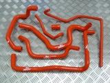 Silikonové hadice Roose Motosport Opel Calibra 2.0T 16V C20LET bez A/C (89-97) - pomocné vedení