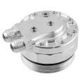 Adaptér pro montáž olejového chladiče na olejový výměník PMC BMW M52 / M54 / M56 - D-10 (AN10) + 3x výstup na senzory