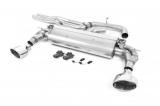 Catback výfuk Milltek Audi RS3 8V MQB Sportback 400PS (17-) - verze bez rezonátoru - koncovky leštěné