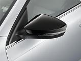Černé kryty zrcátek Škoda Octavia III