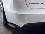 Boční spoiler pod zadní nárazník Tesla Model S Facelift 2016-