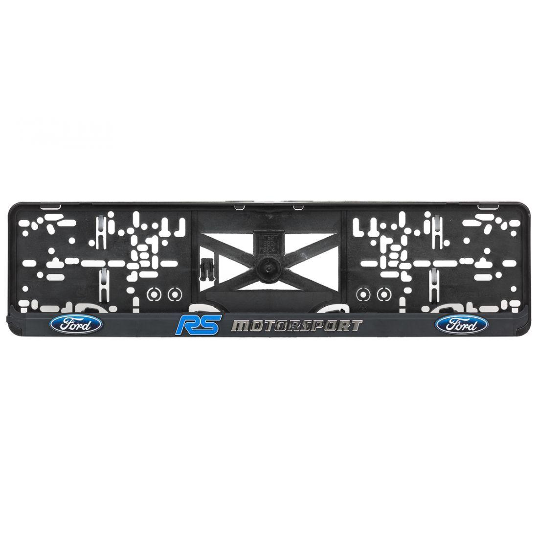 Podložka pod SPZ 3D FORD RS Motorsport