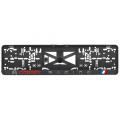 Podložka pod SPZ 3D Citroen Racing