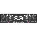 Podložka pod SPZ 3D FC Bayern