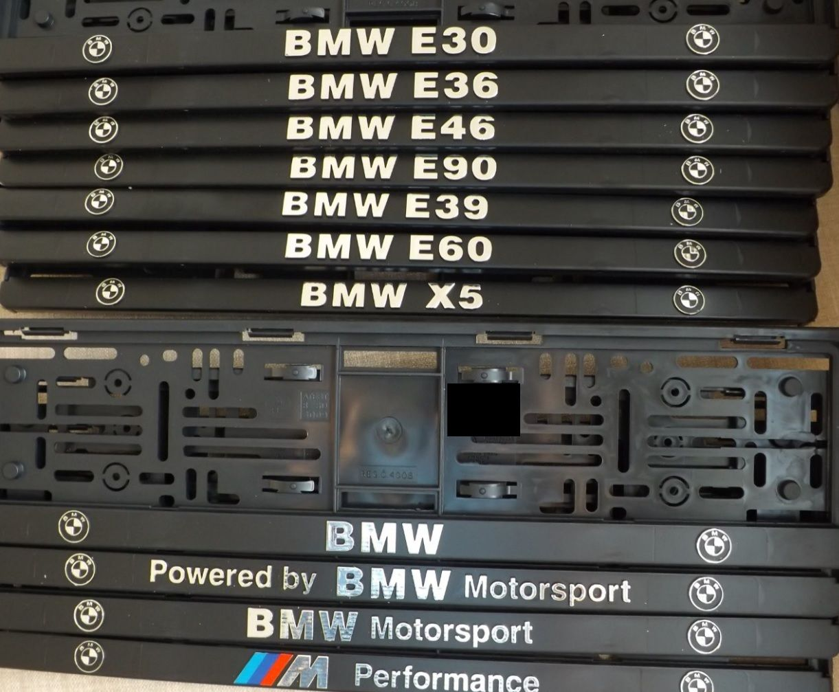 Podložka pod SPZ 3D BME E30