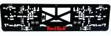 Podložka pod SPZ 3D Red Bull