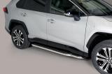 Boční nerezové nášlapy TOYOTA RAV 4  Hybrid 19-
