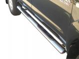 Nerez boční oválné nášlapy TOYOTA Hi Lux double cab 06/15