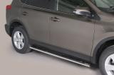 Nerez boční oválné nášlapy TOYOTA RAV 4 13 -/ Hybrid 16/18