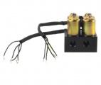 Ventilová jednotka se solenoidy ProRacing pro vzduchové podvozky - 8 portů
