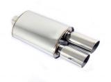 Koncový tlumič výfuku ProRacing MP16 - nerez - 57mm