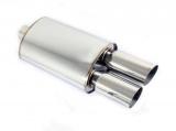 Koncový tlumič výfuku ProRacing MP16 - nerez - 63,5mm