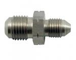 "Propojovací adaptér rovný D-03 (AN3) 3/8""x24-UNF - M12 x 1,0 - samec - nerezový"