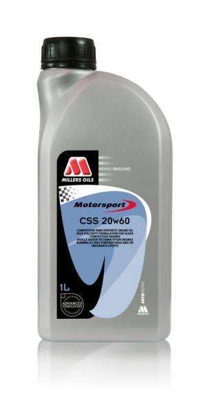 Závodní motorový olej Millers Oils Motorsport CSS 20w60 - 1l - polosyntetický motorový olej