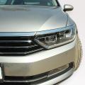 Nerez chrom lišty přední masky a světel Volkswagen Passat B8