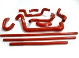 Silikonové hadice Roose Motosport Fiat Punto GT 1.4 Turbo GT1 (93-95) - pomocné vedení Modra