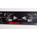 Podložka pod SPZ 3D Ducati