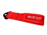 Textilní tažné oko SPARCO - červené