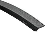 Lemy blatníků Subaru Forester II, černý mat Globmel