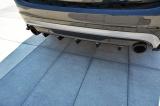 Středový spoiler pod zadní nárazník Volvo V60 Polestar Facelift 2014- 2018 Maxtondesign