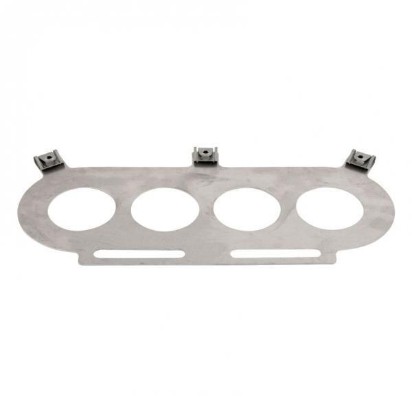 """Základní deska Pipercross k filtru PX500 na Austin Healey Sprite 1.25"""" SU HS2"""