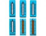 Nalepovací teploměr Mocal od 77°C do 127°C