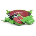 Zadní brzdové destičky EBC Greenstuff na Infiniti FX35 3.5 (03-05)