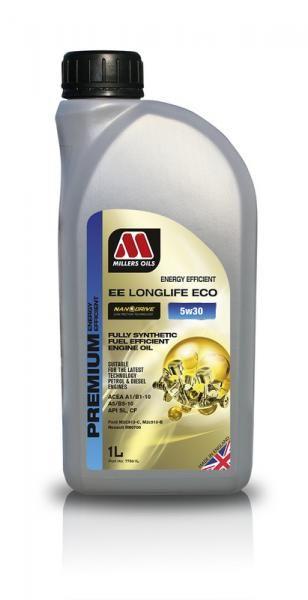 Motorový olej Millers Oils Nanodrive Energy Efficient Longlife ECO 5w30 - 1l - plně syntetický low-friction motorový olej