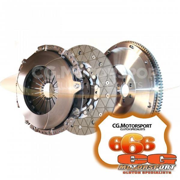 Spojkový kit CG Motorsport 666 Series Seat Toledo Mk3 2.0 TDi 135/140PS 6-st. AZV, BKD (Sachs setrvačník)