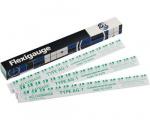 Sada pásek na měření vůlí ACL Flexigauge (Green Pack) AG-1