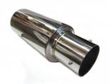 Koncový tlumič výfuku ProRacing MP01 - nerez - 63,5mm