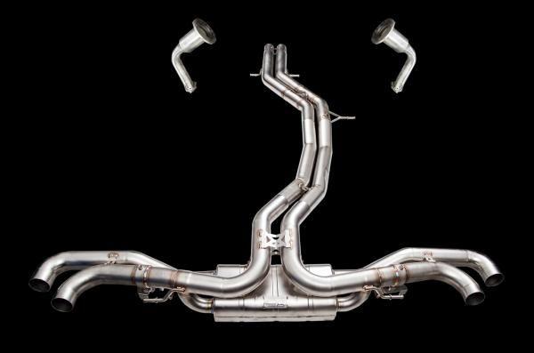 Kompletní výfukový systém s náhradami katalyzátorů Innotech (IPE) na Lamborghini Urus 4.0 V8 FSI (18-)