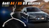 Kompletní výfukový systém s náhradou katalyzátoru Innotech (IPE) na Audi A4 / A5 B9 3.0 V6 TFSi Quattro (16-)