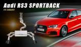 Kompletní výfukový systém s náhradou katalyzátoru Innotech (IPE) na Audi RS3 8V.2 Sportback (17-)