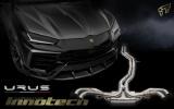Kompletní výfukový systém se sportovními katalyzátory Innotech (IPE) na Lamborghini Urus 4.0 V8 FSI (18-)