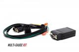 Přídavný budík P3 Gauges do ventilace pro Audi A6 / S6 / RS6 C5 (97-04) - multi V2 OBD2