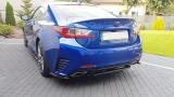 Středový spoiler pod zadní nárazník  Lexus RC 2014-