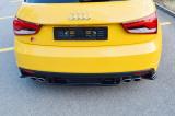 Středový spoiler pod zadní nárazník Audi S1 8X 2014-2018