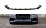 Spoiler pod přední nárazník AUDI RS3 8V FACELIFT SEDAN 2017-