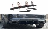 Středový spoiler pod zadní nárazník AUDI RS3 8V FACELIFT SPORTBACK 2017-