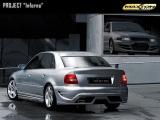 Zadní nárazník Audi A4 B5 saloon versions 1994 - 2000