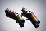Titanové trubky ke škrtícím klapkám pro Nissan GTR R35 (08-)