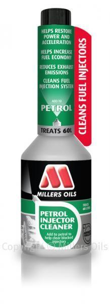 Benzínové aditivum Millers Oils Petrol Injector Cleaner - 250ml