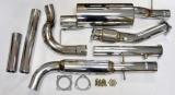 Turboback výfuk Jap Parts VW Golf 4 1.8T