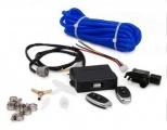 Elektronický dálkově ovládaný kontrolér pro mechanické podtlakově / přetlakově řízené výfukové klapky