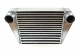 Intercooler FMIC 525 x 300 x 76mm (350 x 300 x 76mm) - výstupy 76mm