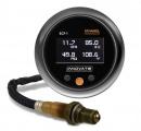 Přídavný budík Innovate Motorsports ECF-1 4in1 - obsah etanolu + teplota paliva + tlak paliva + wideband kit (širokopásmová lambda sonda)