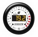 Přídavný budík Innovate Motorsports MTX-D - vacuum/tlak turba + otáčkoměr se shift light